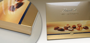 Упаковка конфет в пленку