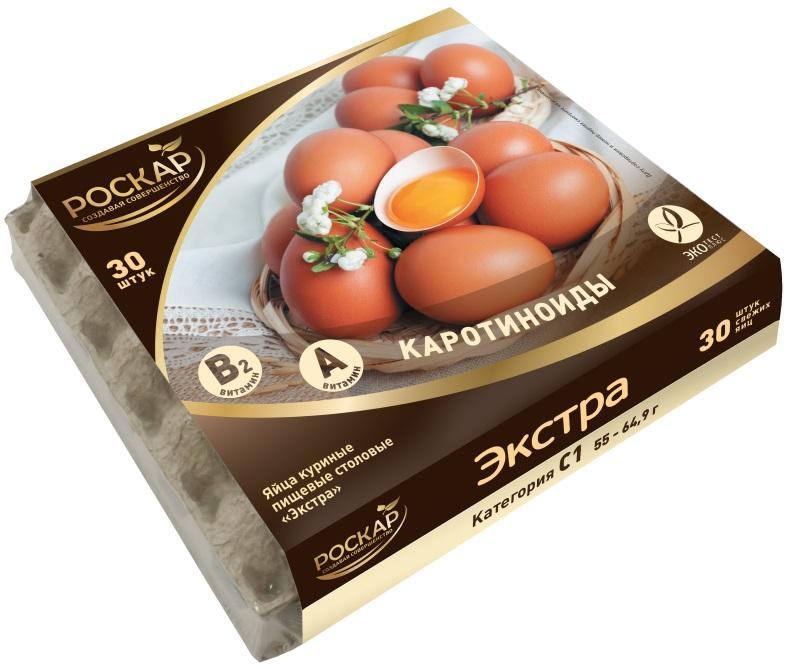 упаковка лотков яиц в термоусадочную пленку