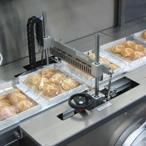 упаковка лотков с выпечкой в термоусадочную пленку