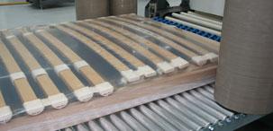 упаковка каркасов в термоусадочную пленку
